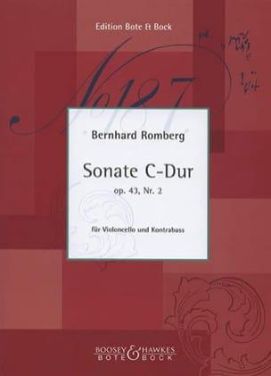 Sonate C-Dur op. 43 n° 2 - Cello Kontrabass laflutedepan