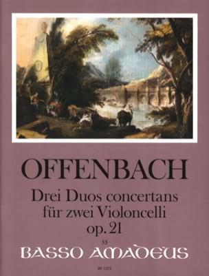 3 Duos Concertants Op.21 OFFENBACH Partition laflutedepan