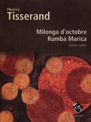 Milonga D'octobre, Rumba Marica TISSERAND Partition laflutedepan