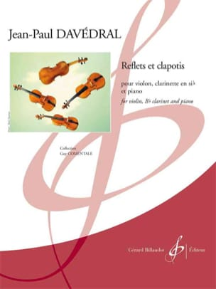 Reflets et Clapotis - Jean-Paul Davédral - laflutedepan.com