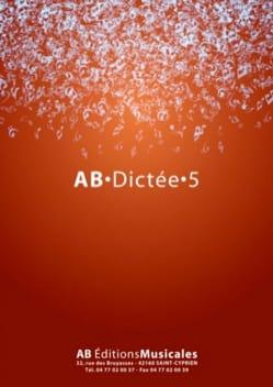 AB Dictée - vol. 5 Partition Dictées musicales - laflutedepan