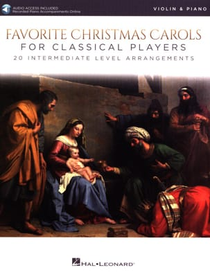 Favorite Christmas Carols - Violon/Piano laflutedepan