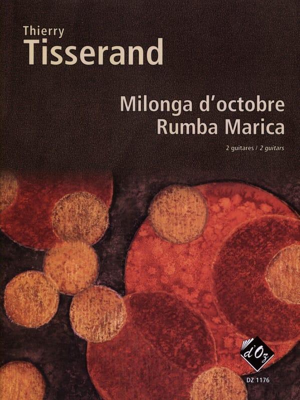 Milonga D'octobre, Rumba Marica - TISSERAND - laflutedepan.com