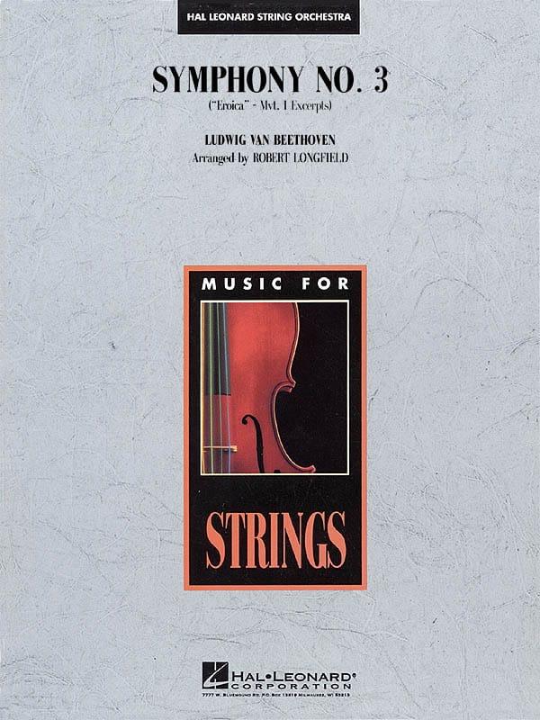 Symphony No. 3 Eroica - Mvt 1 - score & parts - laflutedepan.com