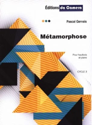 Métamorphose - Hautbois et Piano - Pascal Gervais - laflutedepan.com