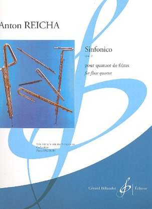 Sinfonico Op. 12 - 4 Flûtes - REICHA - Partition - laflutedepan.com