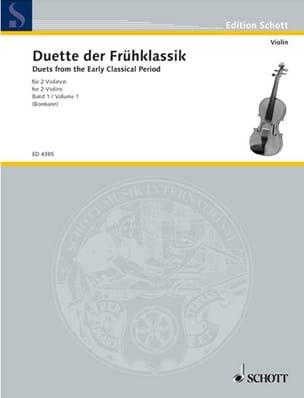 Violinduette der Frühklassik, Bd. 1 Paul Bormann laflutedepan