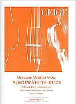 Duos Choisis, Vol. 1 - 2 Violons VIOTTI Partition laflutedepan