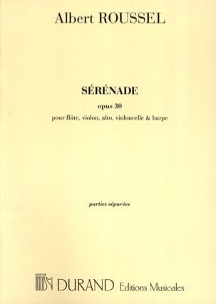 Sérénade op. 30 - Parties ROUSSEL Partition Quintettes - laflutedepan