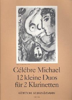 12 Kleine Duos - 2 Klarinetten - Michel Célèbre - laflutedepan.com