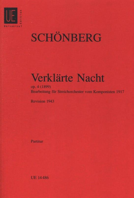 Verklärte Nacht op. 4 - Streichorch. - Partitur - laflutedepan.com