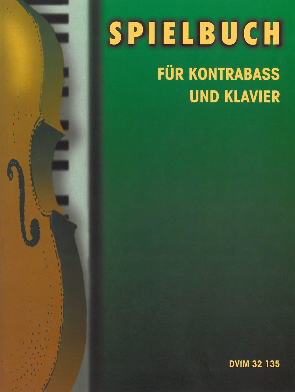 Spielbuch für Kontrabass - Partition - laflutedepan.com
