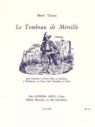 Le Tombeau de Mireille TOMASI Partition laflutedepan
