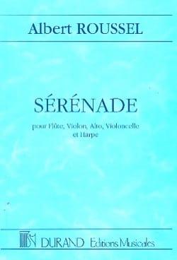 Sérénade op. 30 ROUSSEL Partition Grand format - laflutedepan