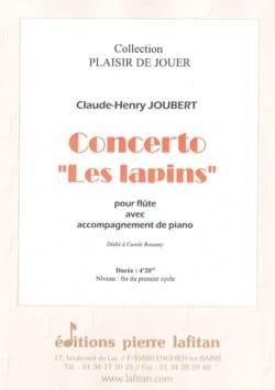 Concerto Les lapins - Flûte et piano Claude-Henry Joubert laflutedepan