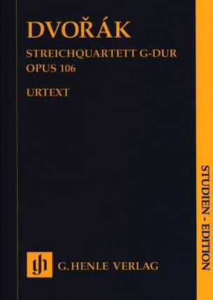 Quatuor à Cordes, op. 106 - Conducteur DVORAK Partition laflutedepan