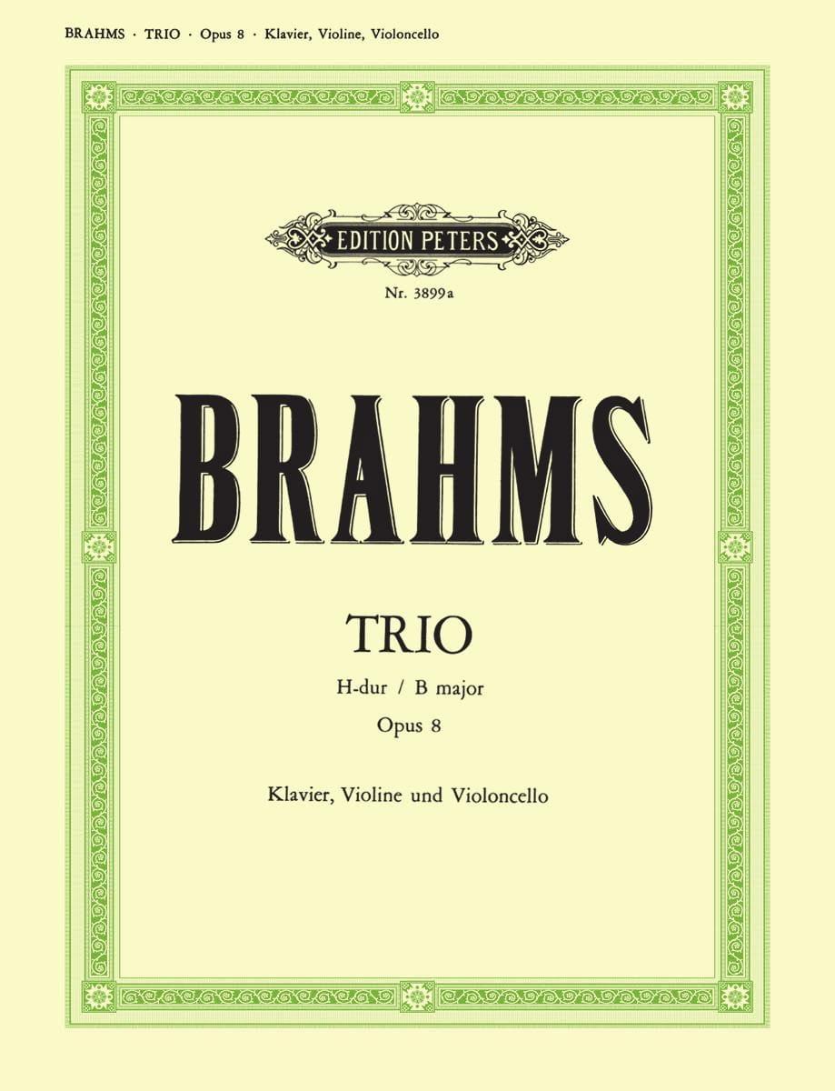 Klaviertrio H-Dur op. 8 -Stimmen - BRAHMS - laflutedepan.com
