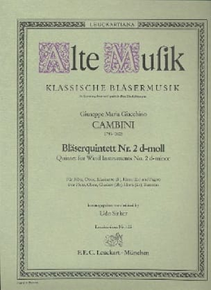 Bläserquintett Nr. 2 d-moll -Stimmen - laflutedepan.com