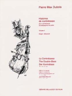 Histoires de Contrebasse, Volume 1 Pierre-Max Dubois laflutedepan