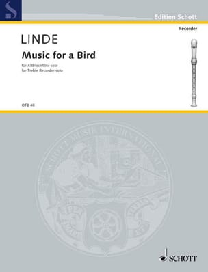 Music for a Bird Hans-Martin Linde Partition laflutedepan
