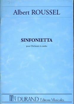 Sinfonietta - Conducteur ROUSSEL Partition Grand format - laflutedepan