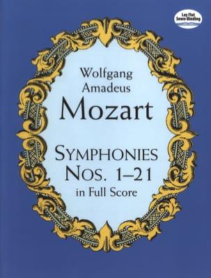 Symphonies N° 1 à 21 MOZART Partition Grand format - laflutedepan