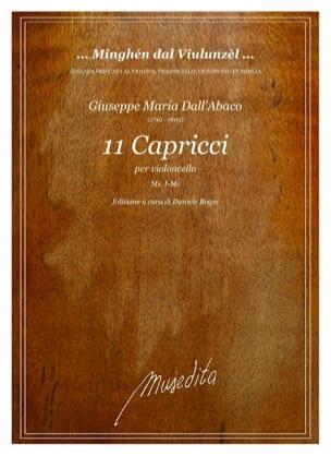 11 Capricci Abaco Giuseppe Maria Dall' Partition laflutedepan