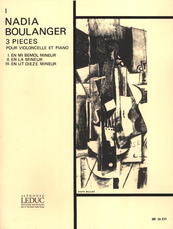 Piece N° 1 en Mi Bémol Mineur - Nadia Boulanger - laflutedepan.com