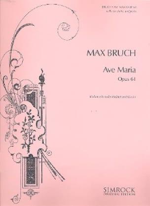 Ave Maria op. 61 - BRUCH - Partition - Violoncelle - laflutedepan.com