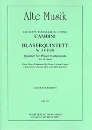 Bläserquintett Nr. 3 F-Dur -Stimmen - laflutedepan.com
