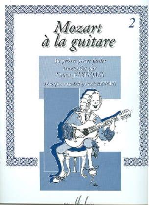 Mozart à la guitare - Volume 2 - laflutedepan.com