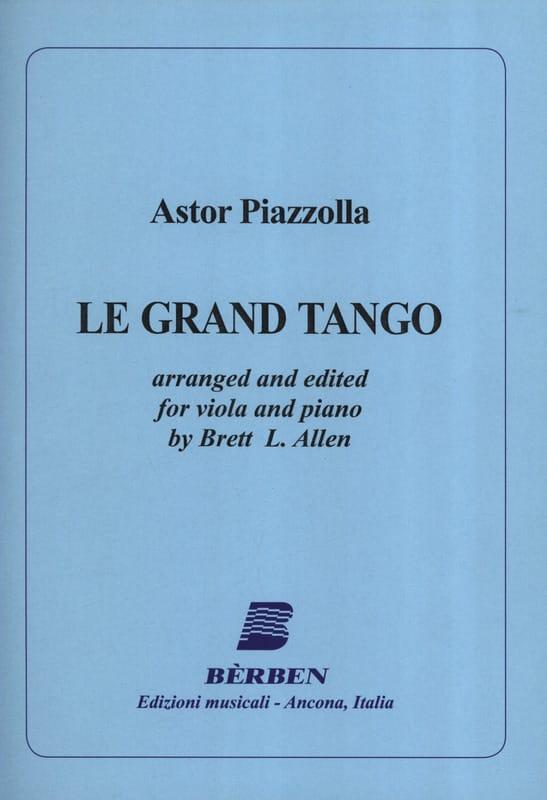 Le Grand Tango - Alto - Astor Piazzolla - Partition - laflutedepan.com