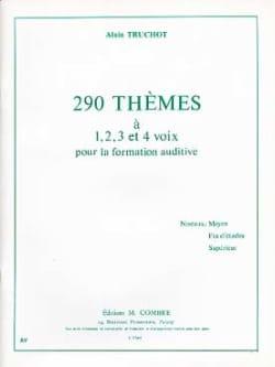 Alain Truchot - 290 Themes - Partition - di-arezzo.co.uk