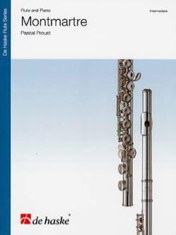 Montmartre Pascal Proust Partition Flûte traversière - laflutedepan