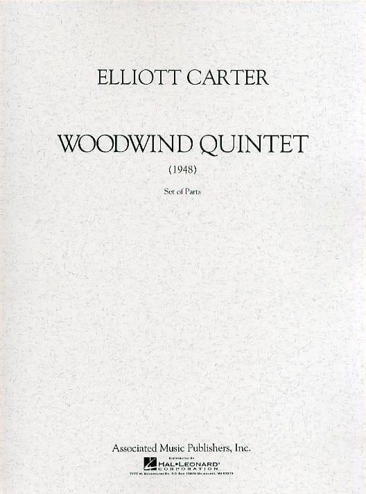 Woodwind Quintet - Elliott Carter - Partition - laflutedepan.com