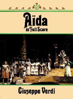 Aïda - VERDI - Partition - Grand format - laflutedepan.com