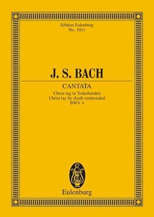 Cantata Christ Lag In Todesbanden Bwv 4 BACH Partition laflutedepan