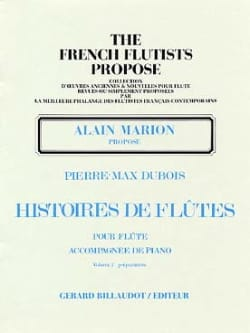 Histoires de flûtes - Volume 2 Pierre-Max Dubois laflutedepan