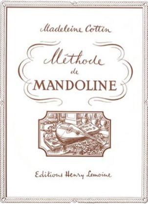 Méthode de mandoline Madeleine Cottin Partition laflutedepan