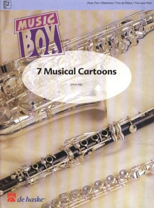7 Musical Cartoons Johan Nijs Partition laflutedepan