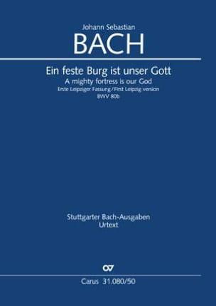 Cantate BWV 80b - Conducteur BACH Partition laflutedepan