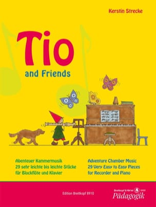 Tio and Friends Partition Flûte à bec - laflutedepan