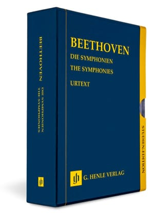 Les 9 Symphonies BEETHOVEN Partition Petit format - laflutedepan
