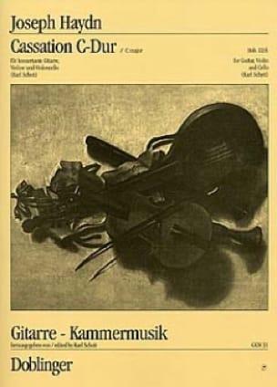 Cassation C-Dur Hob. 3 : 6 -Partitur + Stimmen - laflutedepan.com