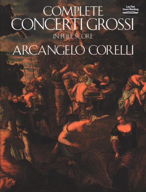 Complete Concerti Grossi - Full Score - CORELLI - laflutedepan.com