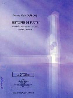 Histoires de flûtes - Volume 3 Pierre-Max Dubois laflutedepan