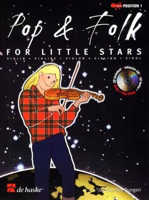Pop & Folk for little stars Jos van den Dungen Partition laflutedepan