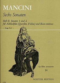 6 Sonaten - Heft 2 : Nr. 3 und 4 - Altblockflöte laflutedepan