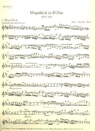 Magnificat D-Dur BWV 243 - Matériel Complet BACH laflutedepan