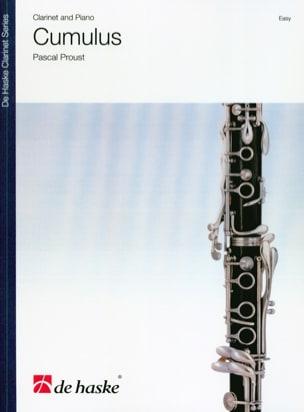 Cumulus - Clarinette et piano Pascal Proust Partition laflutedepan